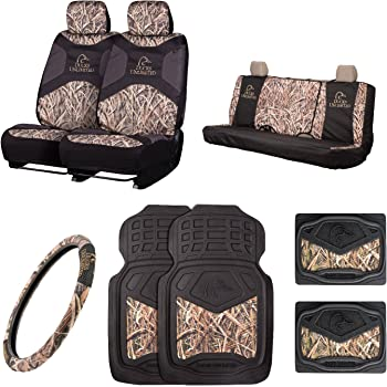 Ducks Unlimited Seat Covers >> Ducks Unlimited Camo Seat Covers Universal Fit Shadow