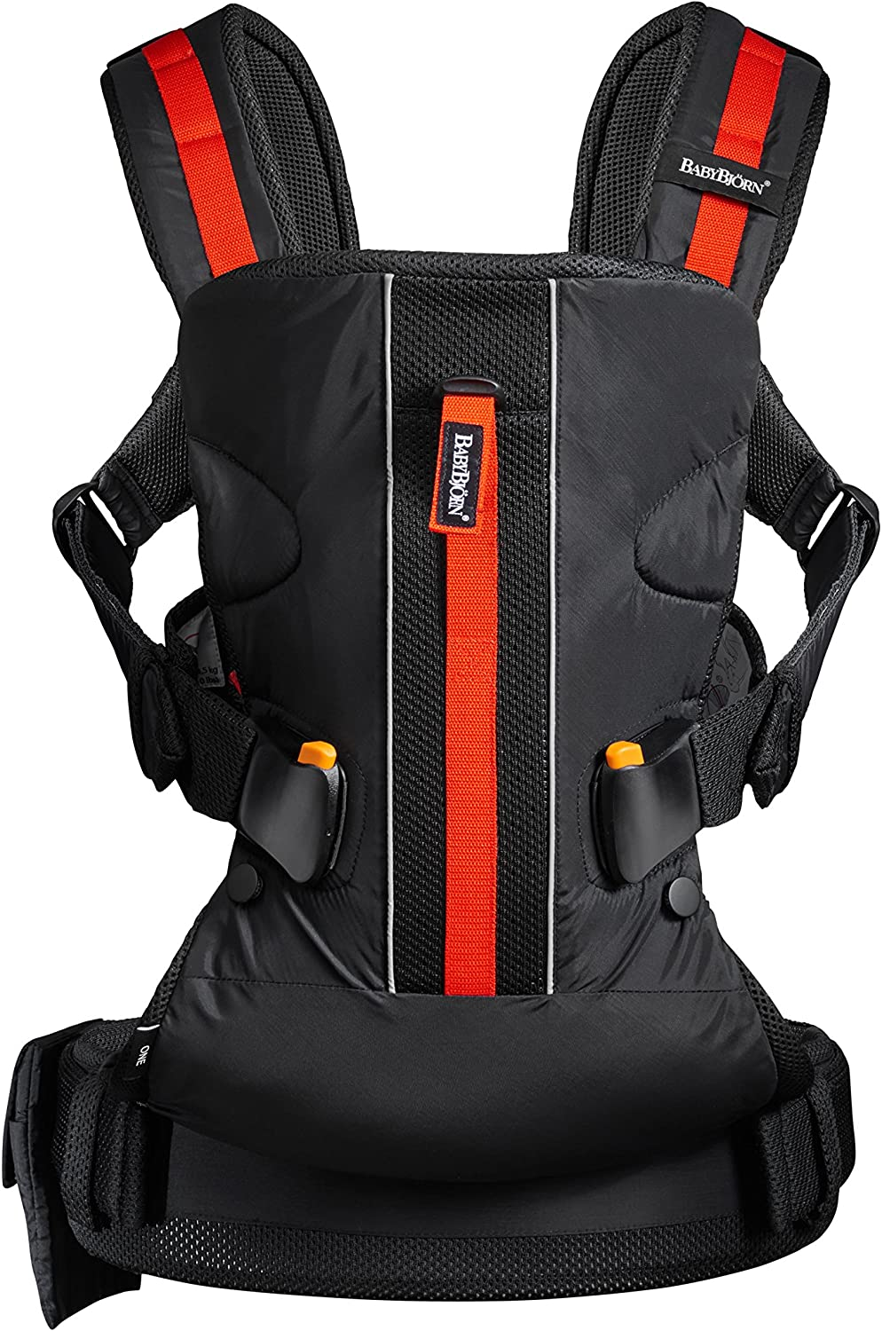 Black BabyBj/örn Baby Carrier One Outdoors