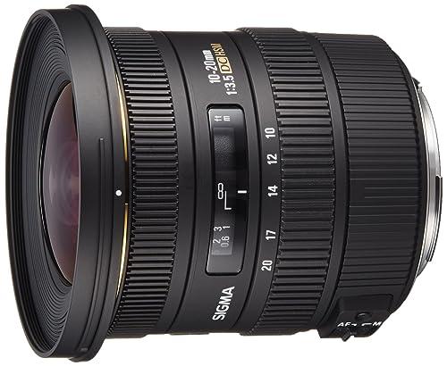 Sigma 202101 10-20mm f3.5 EX DC HSM Lens for Canon Digital SLR Cameras with APS-C Sensors