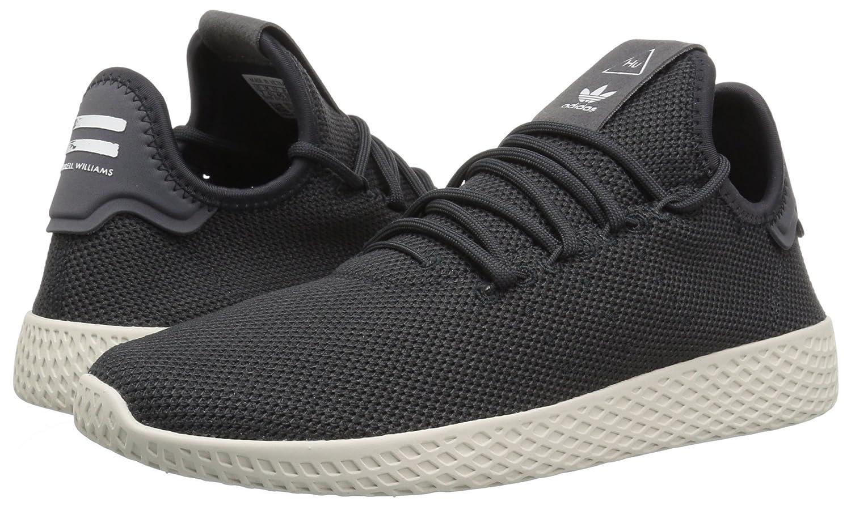 fcb5d4771289 Zapatillas de deporte con adidas Pw Tennis Hu de adidas para hombre Carbono    Carbono   Tiza Blanco