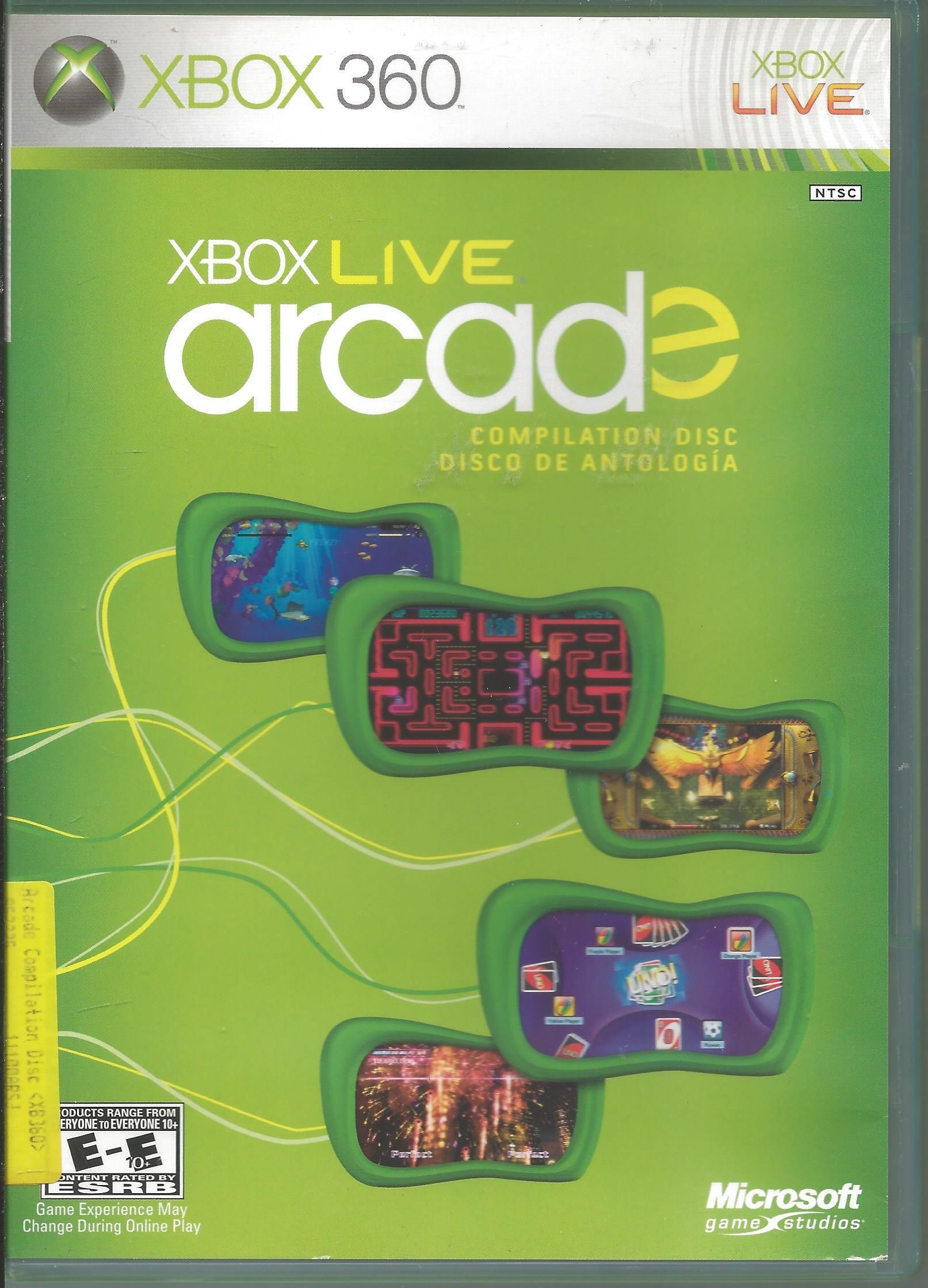 Amazon Com Xbox Live Arcade Compilation Disc Video Games