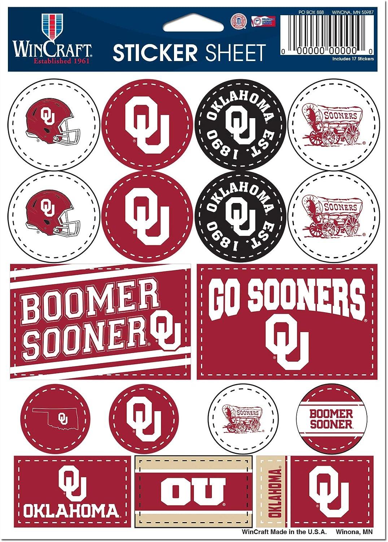 WinCraft NCAA University Oklahoma Sooners 5