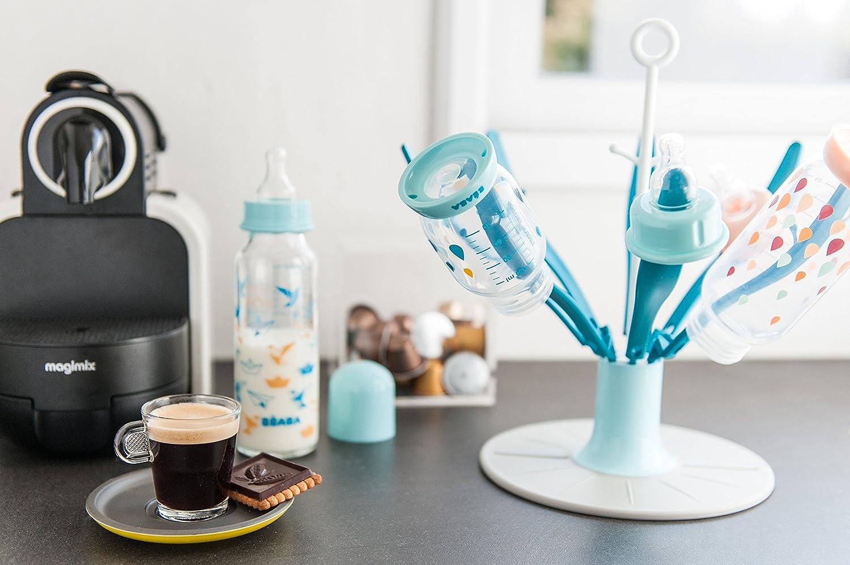 BEABA 01//911571 Babyflasche mit Rundboden nude 330 ml