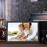 OLDTIME® 12 Pollici Cornice Digitale 8GB LCD Cornici digitali Ad Alta Risoluzione1280x800 Telecomando Supporto MP3 / MP4 / Calendario / Orologio Sveglia Funzione Regalo Di Natale