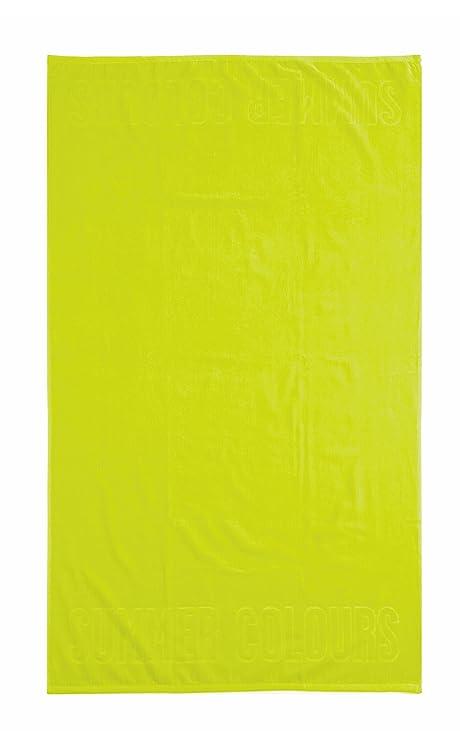 Toalla de playa Summer Color, 100 x 180 cm Toalla Toalla, Camilla (velur