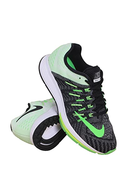 official photos 10a74 c2ee2 Nike 748589-013 Women AIR Zoom Elite 8 Black SAIL Ghost Green