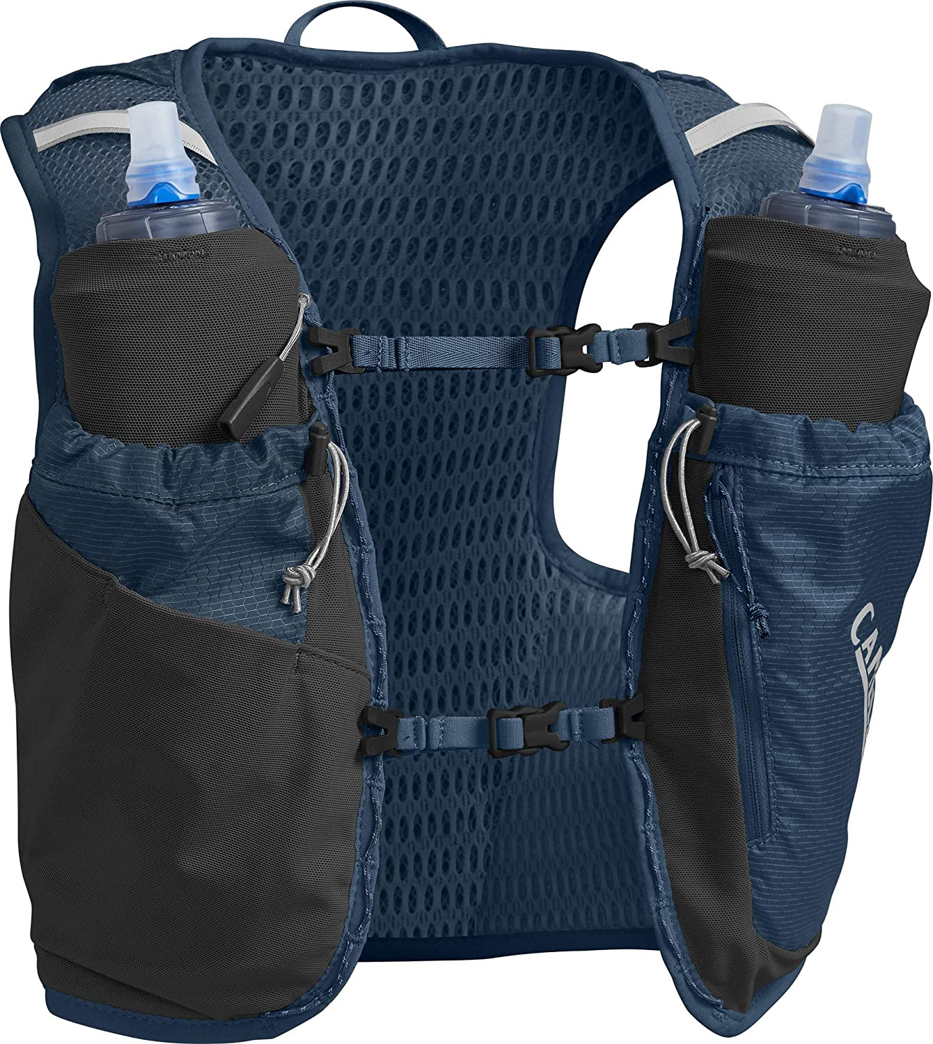 CamelBak Women's Ultra Pro Running Hydration Vest - 3D Micro Mesh - Two 500-ml Quick Stow Flasks - Dual Adjustable Sternum Straps - Secure Phone Pocket - Running Vest - 34 Ounces