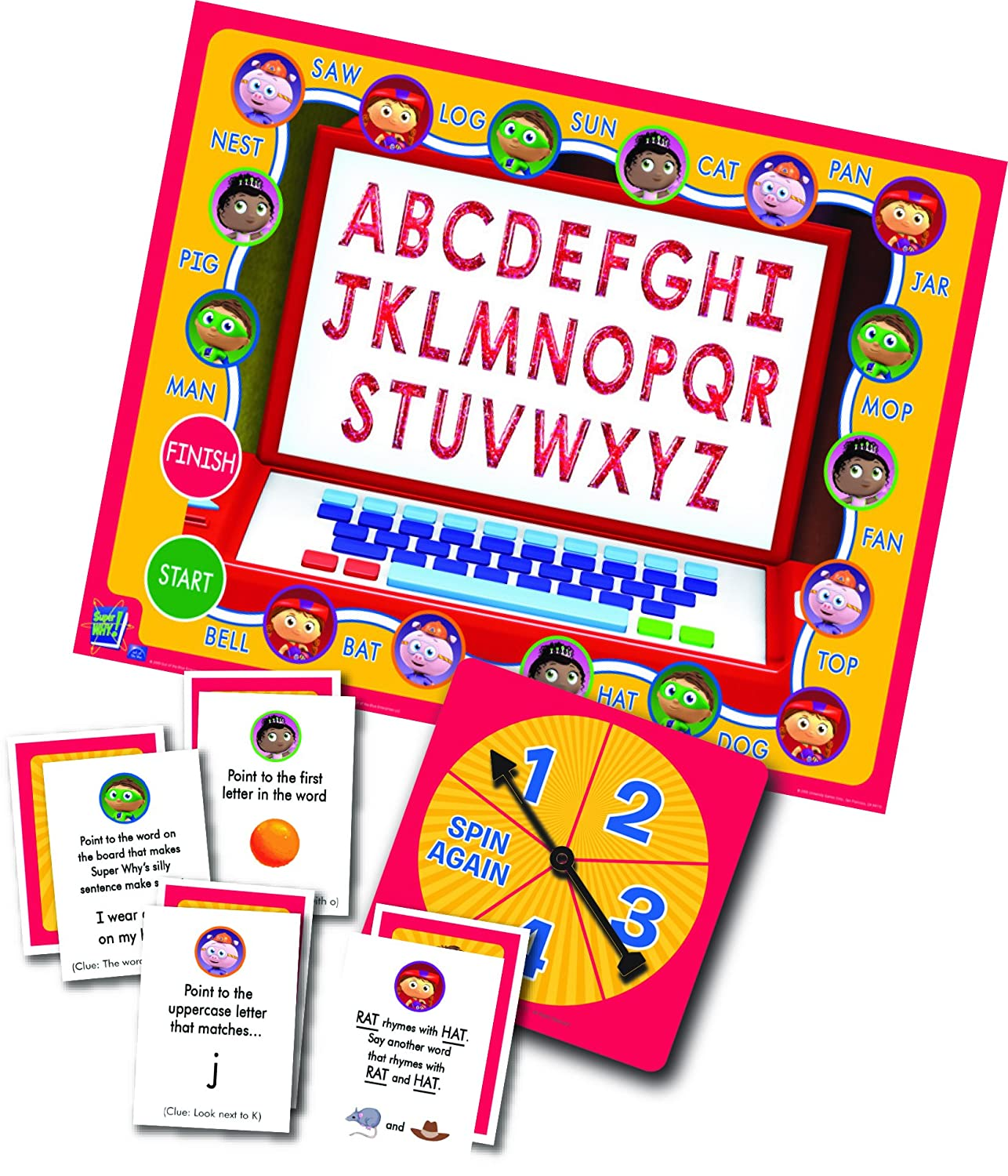 Super Why! Abc Letter Game by Briarpatch