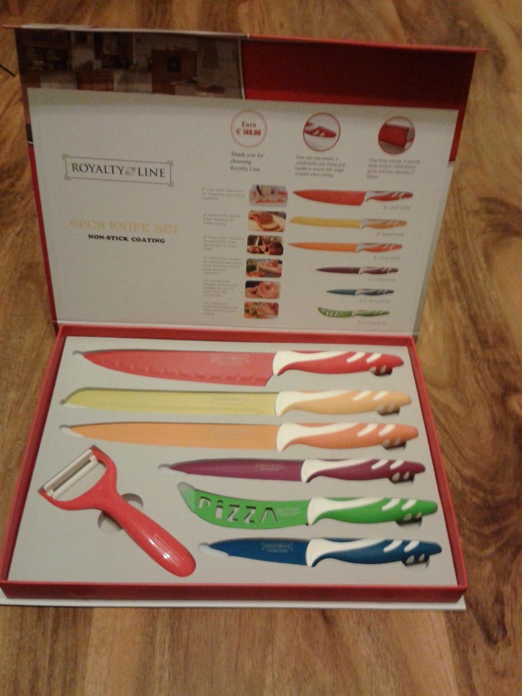 Royal Koch - Juego de 6 cuchillos suizos: Amazon.es ...