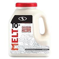 Snow Joe MELT10CCP-J Melt Calcium Chloride Pellets Ice Melter Jug, 10-Pound