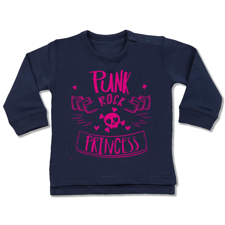 Sprü che Baby - Punk Rock Princess - Baby Pullover Shirtracer BZ31