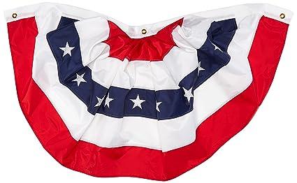 fb9b393c425c Amazon.com  Darice American Flag Bunting 47