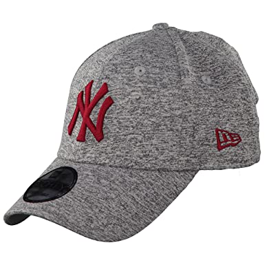 NY Yankees New Era 940 Tech Jersey Baseball Cap (Grey   Cardinal) ac950c7be02