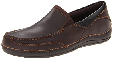 Rockport Men's Balabour Slip-On-Cocoa Leather-10.5 M