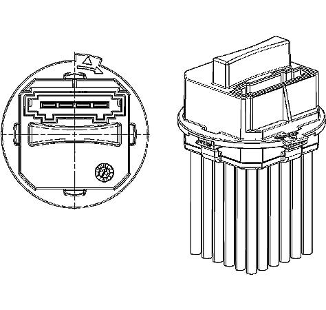 YAOPEI 6441.S7 - Resistencia del Ventilador del Motor del Soplador ...