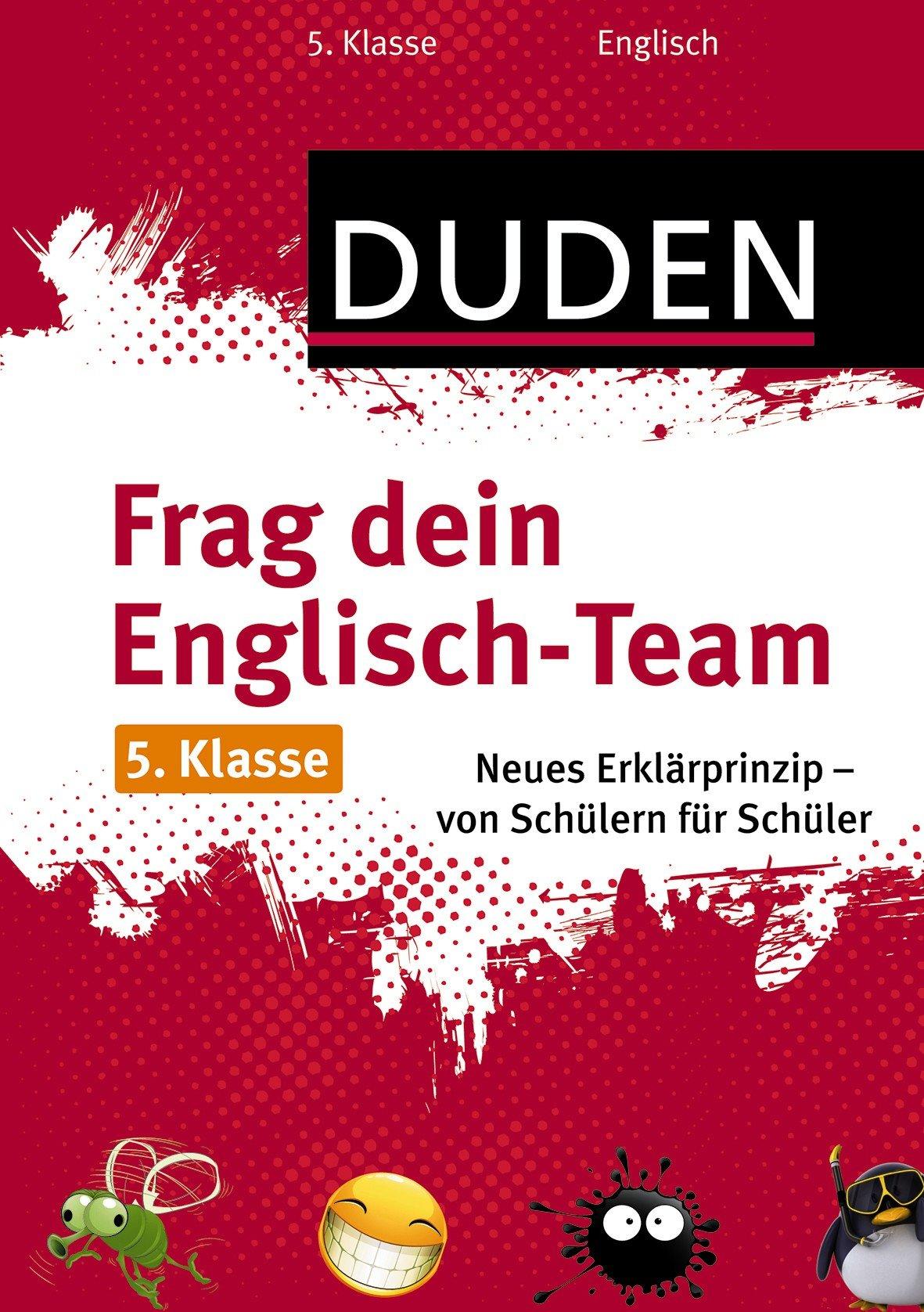 Frag dein Englisch-Team 5. Klasse