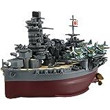 フジミ模型 ちび丸艦隊シリーズ No.32 山城(航空戦艦) 全長約11cm ノンスケール 色分け済み プラモデル ちび丸32