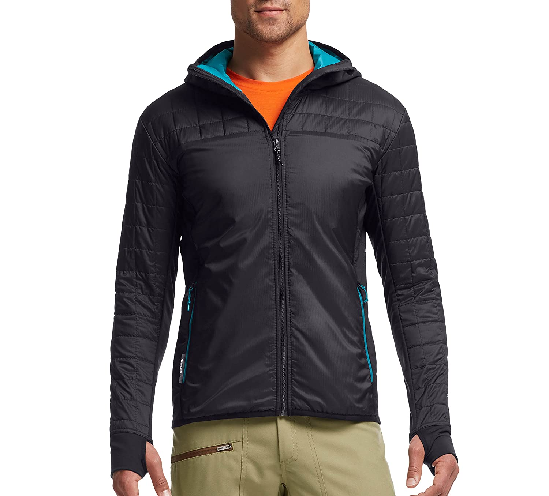 Icebreaker Men's Helix Long Sleeve Zip Hoodie 101463402