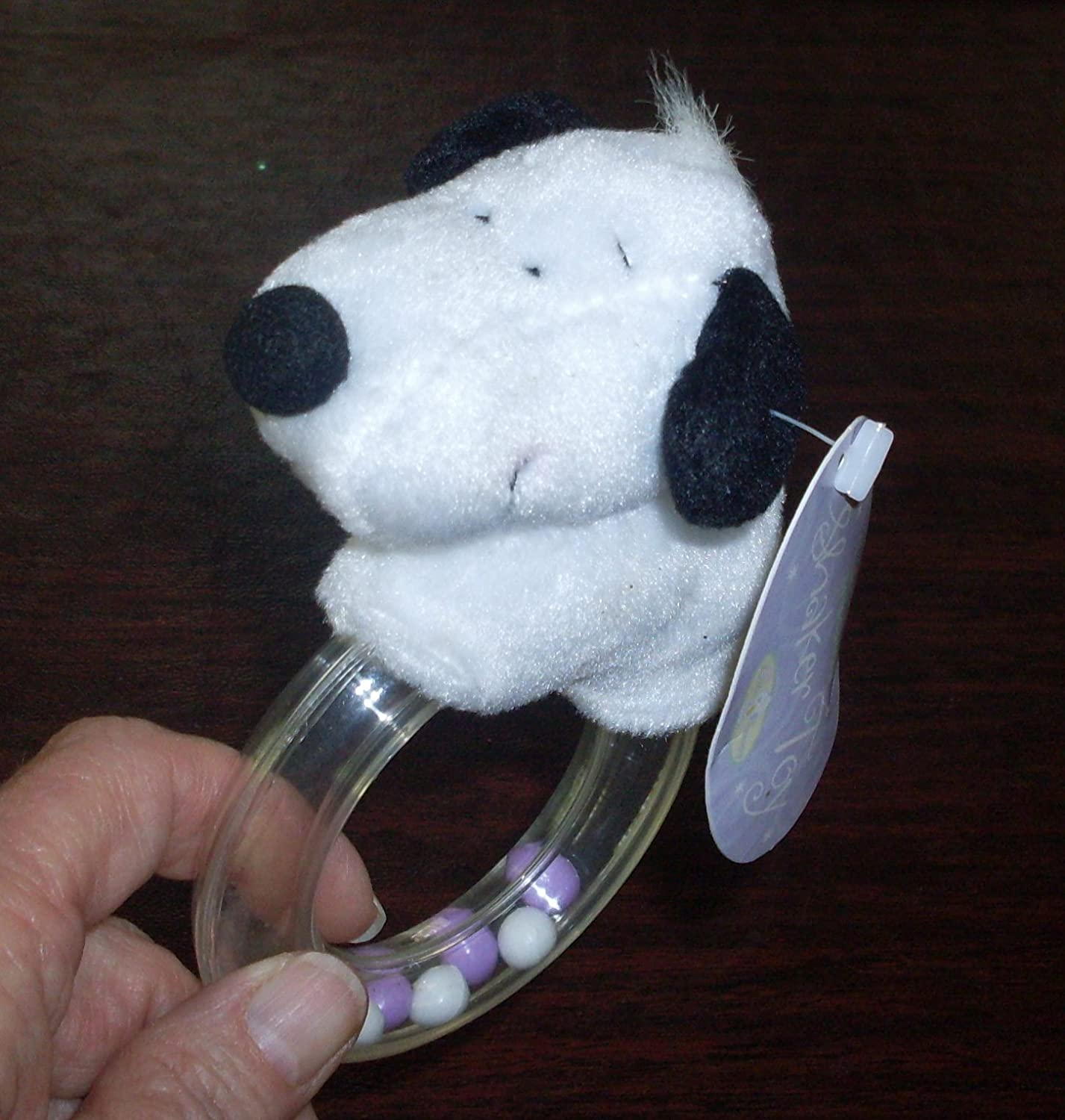 Rare 。ホールマークLittle Baby Snoopy Rattle – Shaker Toy   B007OLBTE4