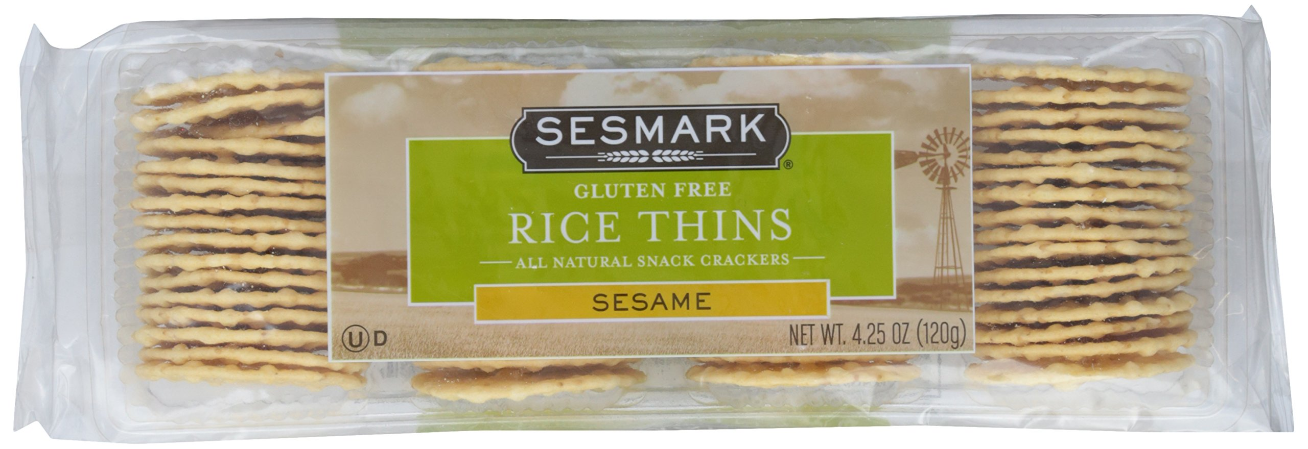 Sesmark, Sesame Rice Thins, 4.25 oz