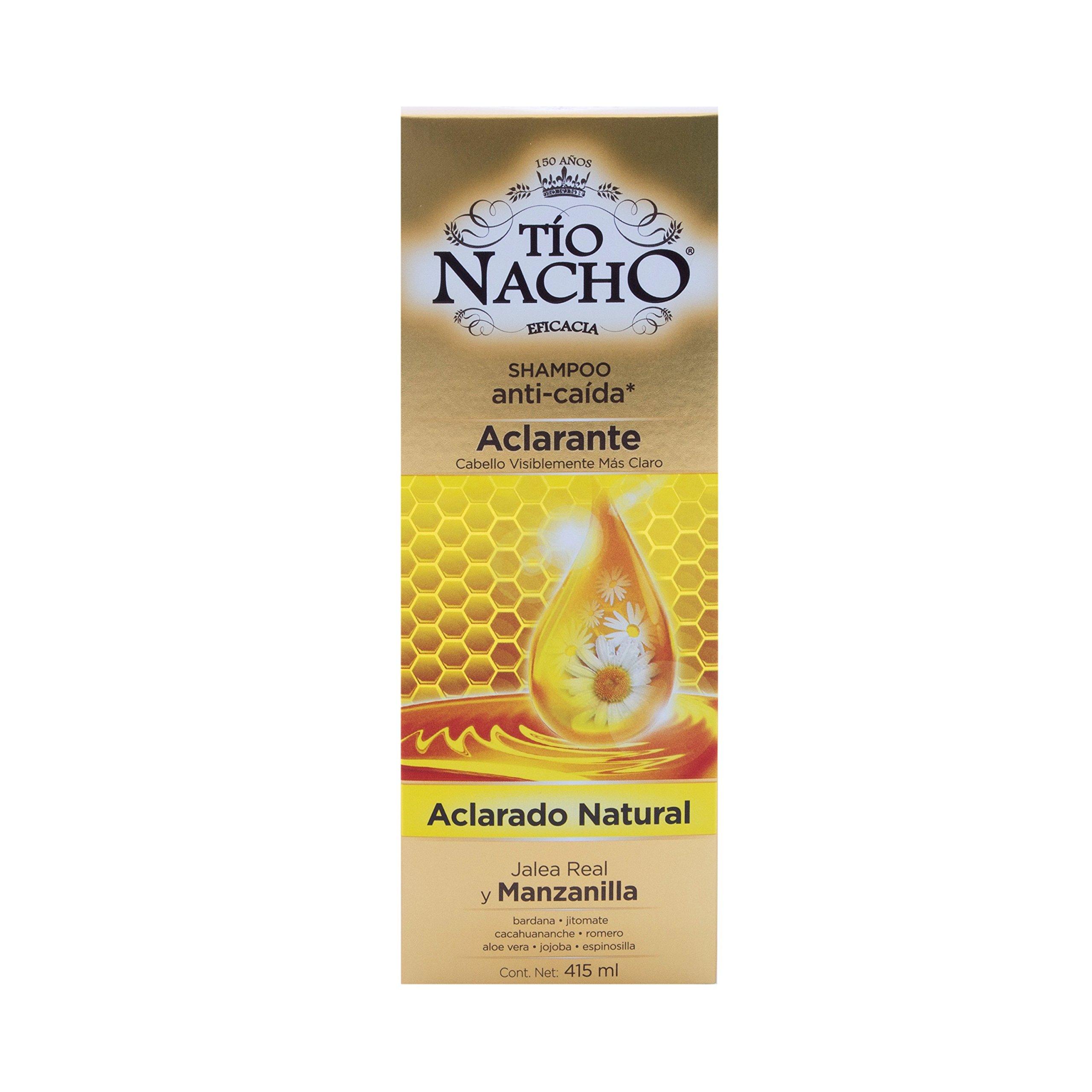 Tio Nacho Anti-Caida y Aclarante Chamomile Shampoo by Genomma Lab