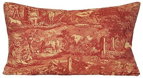Amazon.com: Tradicional Rojo Manta Decorativa Funda de ...