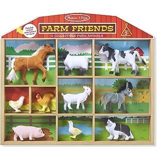 Melissa Doug Farm Friends Classic Play Sets