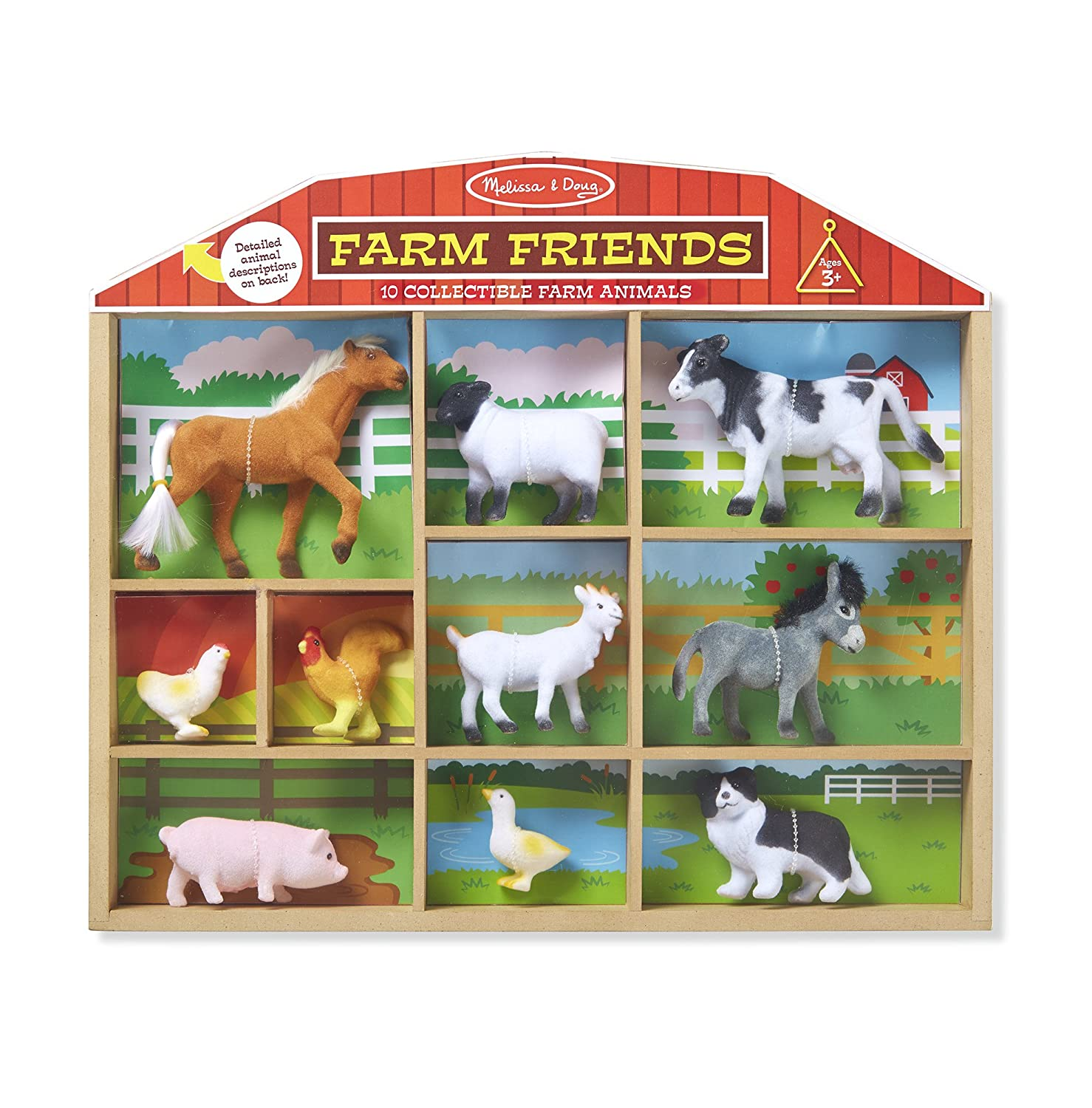 Melissa & Doug Farm Friends Classic Play Sets Melissa and Doug 594