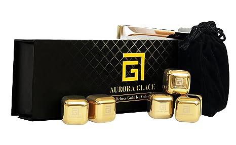 Amazon.com: Aurora Glace | Whisky piedras Deluxe Gift Set ...