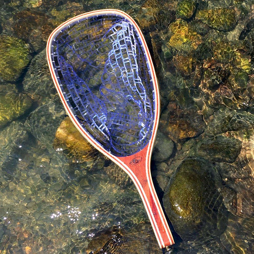 Clear Net//Square Head SF Fischkescher aus weichem Gummimaterial