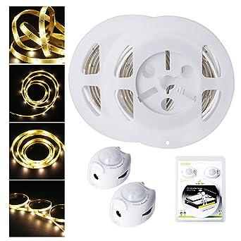 Tira de Luz LED para Cama, ALED LIGHT Se Activa con el Movimiento, Encendido
