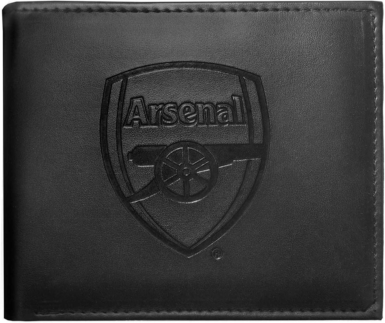 Arsenal Football Club Official Money Wallet with Embroidered Crest