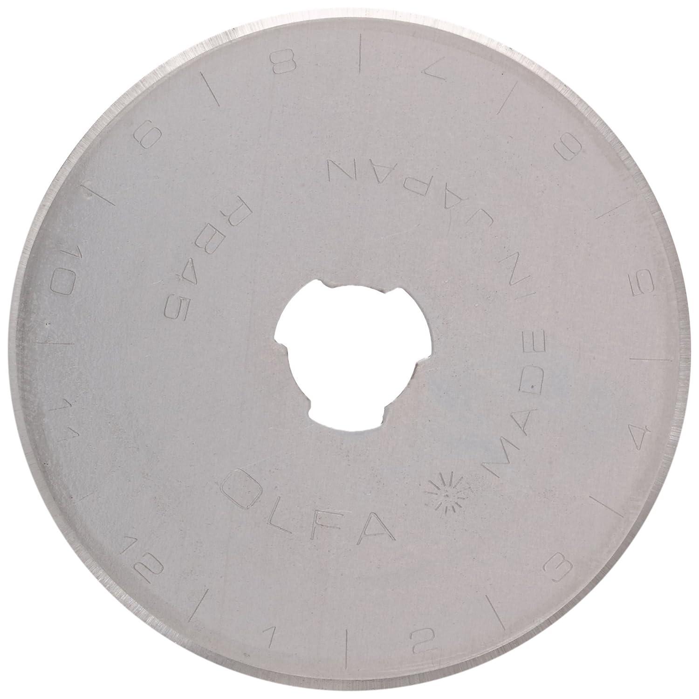 Prym Lama di ricambio per taglierine MM 60, Poliestere, silberfarbig/hellblau, 611372-45 mm PRYM_611372-1