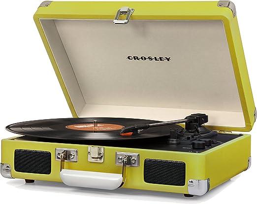 Crosley Deluxe - Tocadiscos: Amazon.es: Electrónica