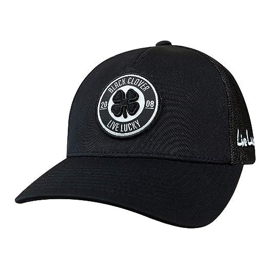 29743f15646 Black Clover Anniversary Patch Adjustable Snapback Hat (Black Black ...
