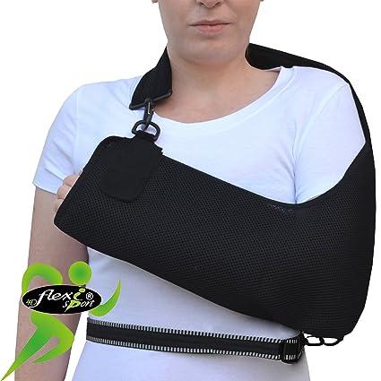 Cabestrillo brazo hombro ajustable. SÚPER CONFORTABLE. ANTI-SUDOR ... 5d78efb85066