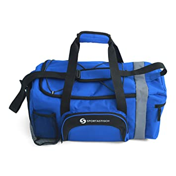 EXCELLENT Sports Bag Sporty With Shoe Compartment Shoulder Strap