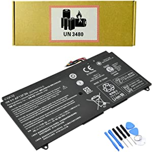 CQCQ AP13F3N Compatible Battery Replacement for Acer Aspire S7 S7-392-9460 S7-392-9890 S7-392-6832 S7-392 Ultrabook Series Laptop (7.4V 35Wh/4680mAh)