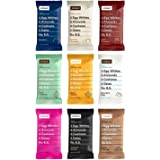 RxBar Real Food Protein Bars, Whole30, Paleo Variety Pack, 9 Flavors w/ NEW Chocolate Chip & Mixed Berry (Pack of 18)