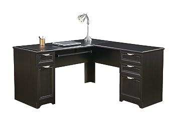 Wondrous Realspace Magellan L Shaped Desk 30H X 58 3 4W X 18 3 4D Espresso Download Free Architecture Designs Intelgarnamadebymaigaardcom