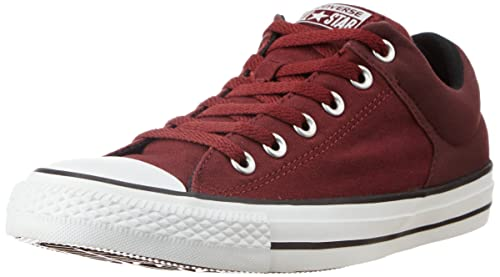 9ca249cee3e3 Converse Unisex Maroon Canvas Sneakers - 11 UK  Buy Online at Low Prices in  India - Amazon.in