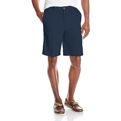 Haggar Men's Cool 18 Oxford Weave Short at Amazon Men's Clothing store