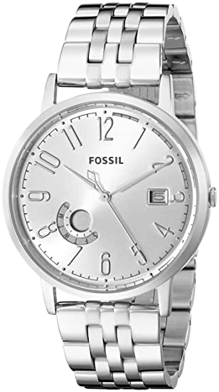 c23a6a576577 Fossil Women s ES3787 Vintage Muse Analog Display Analog Quartz Silver Watch