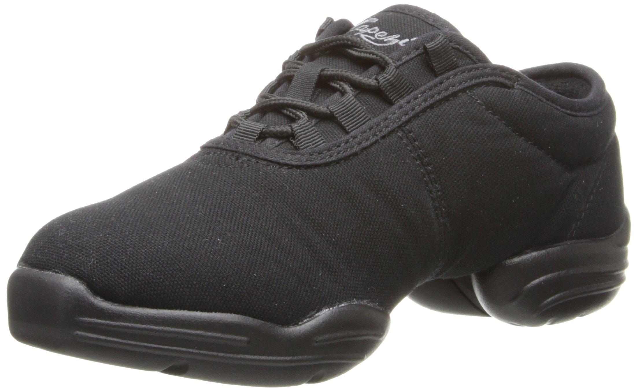 Capezio  Canvas Dance Sneaker,Black,10.5 M US