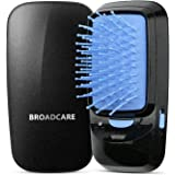 BROADCARE Tragbare Ionische Haarbürste Akku-Betrieb Professionelle Bürste (Ohne Batterie)