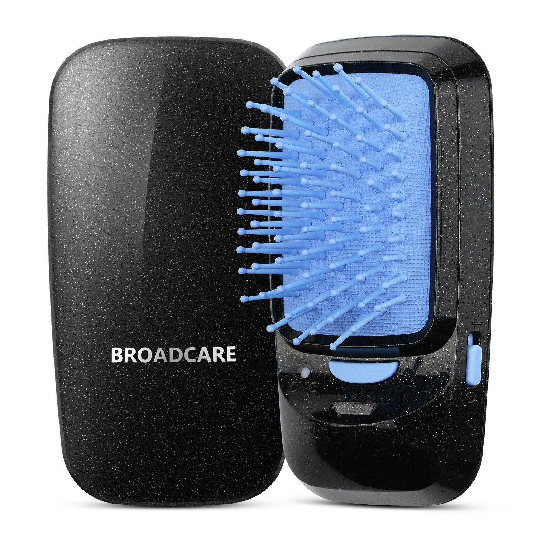 broadcare portátil Cepillo de pelo iónico batería de funcionamiento profesional cepillo (sin batería): Amazon.es: Salud y cuidado personal