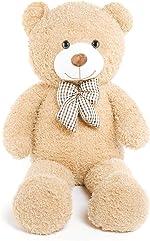 DOLDOA Big Teddy Bear Stuffed Animals Plush Toy for Girlfriend Children