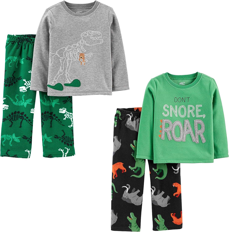 Simple Joys by Carters 4-Piece Polyester Pajamas Ni/ños