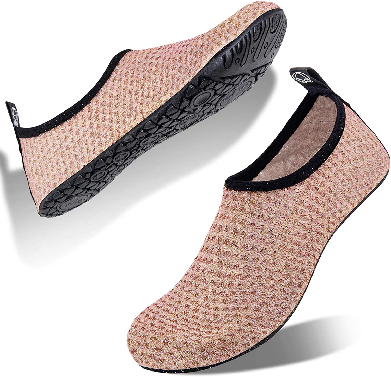 Men Women Water Shoes Barefoot Skin Socks Quick-Dry Aqua Beach Swim Water Sport
