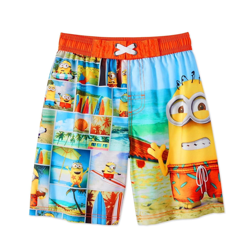 Fashion Despicable Me Minions Boardshort Swim Trunk